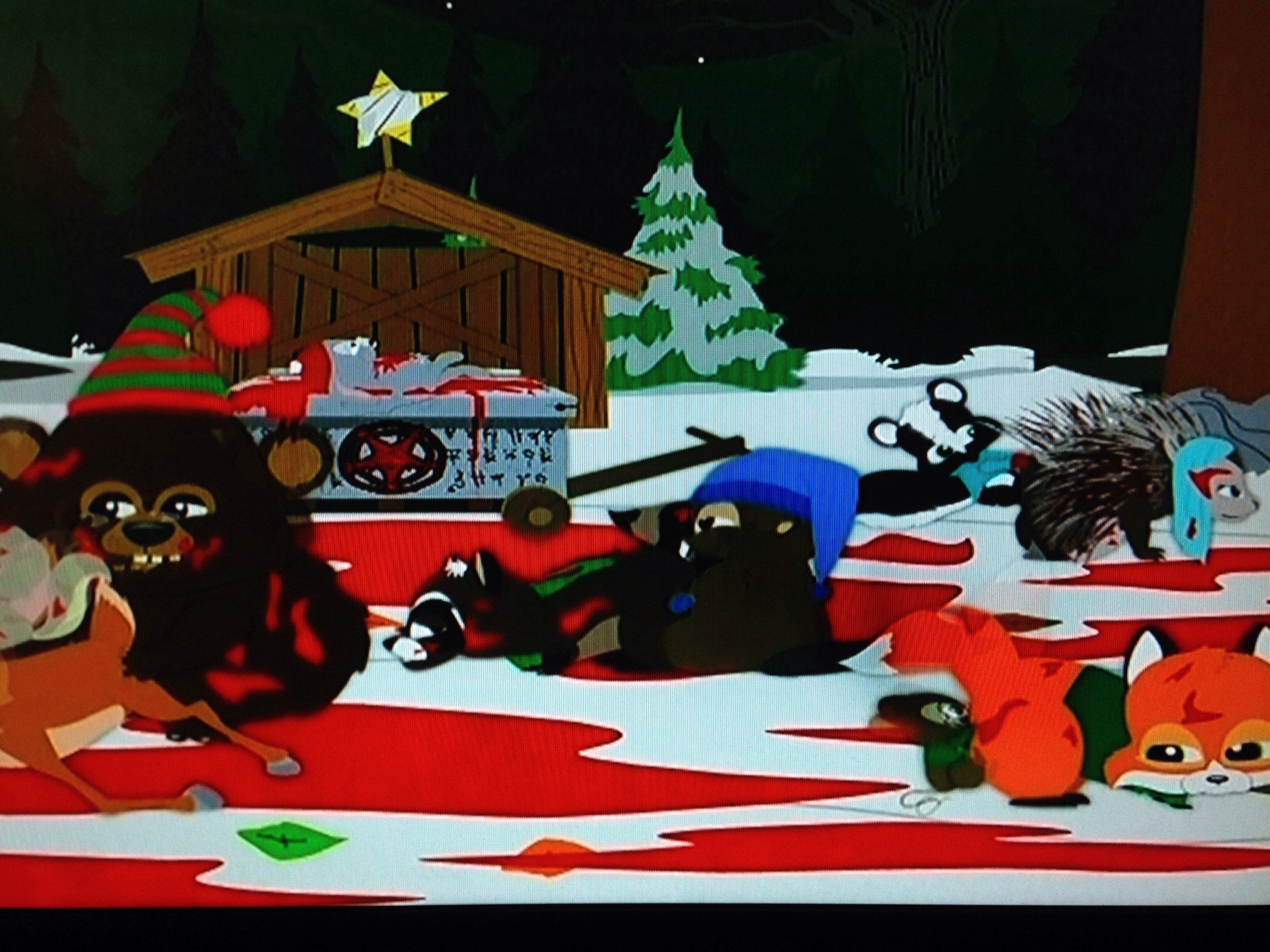 South Park Woodland Critter Christmas.South Park Woodland Critter Christmas Gay Geek Gab